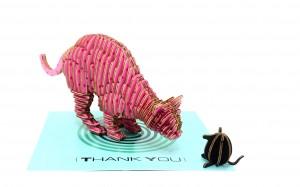 坦諾藝術-THANK YOU CAT-1