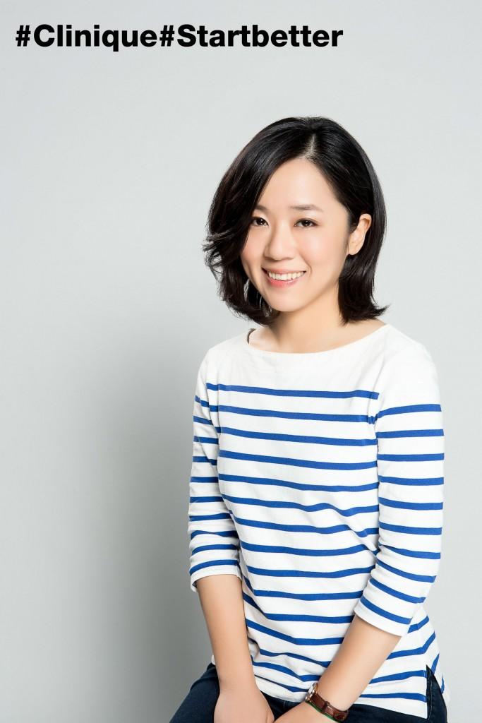 Clinique Start Better 傳遞Love與Care -「限量典藏海報 計畫」Vita Yang