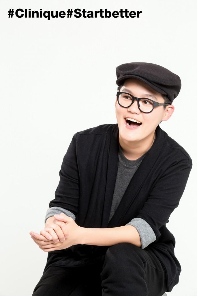 Clinique Start Better 快樂與勇氣製造者! -「快樂打氣機計畫」王艾莉