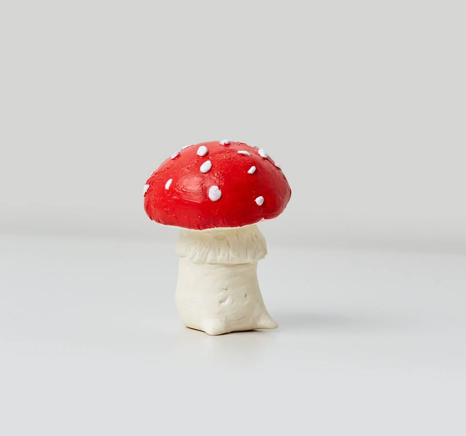 大紅蘑菇_梁亦穠
